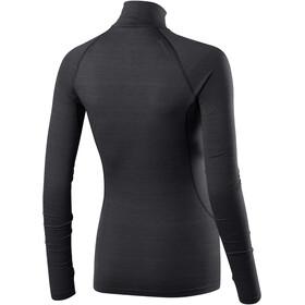 Houdini Desoli Zip Shirt Dame true black